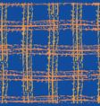 modern grunge plaid effect seamless pattern vector image vector image