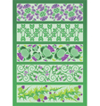 ornament decorative elements in Celtic style vector image vector image