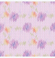 seamless chevron pattern fabric textile vector image