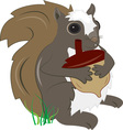 Squirrel with Acorn
