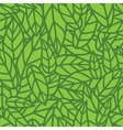 Green leaf nature seamless pattern vector image vector image