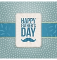 Happy Fathers Day Pattern Background Template vector image vector image