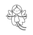 happy valentines day cute cupid love cartoon vector image vector image