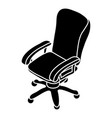 office chair wheel icon simple style vector image