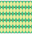 Oval and triangle geometric seamless pattern 2903 vector image