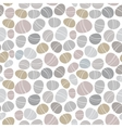Seamless pattern with hand drawn squares vector image vector image