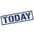 today stamp vector image vector image