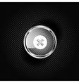 Delete web icon vector image
