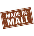 made in mali stamp vector image vector image