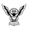 Owl Fly vector image vector image