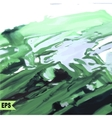 abstract paint Painting with green water vector image