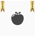 apple - icon vector image vector image