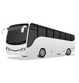 big tour bus 02 vector image vector image