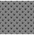 Design seamless monochrome knitted background vector image vector image