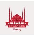 hagia sophia turkey istanbul vector image vector image