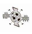 Logo soccer league vector image vector image