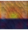 Polygonal background design vector image vector image