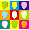 Shield sign vector image