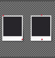 squares frame template isolated vector image vector image