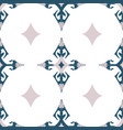 swan magical tiles on white seamless vector image vector image