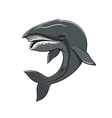 Whale or cachalot isolated mascot icon