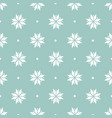 winter minimalist geometric seamless pattern with vector image vector image