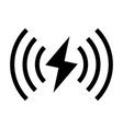 wireless charger vector image vector image
