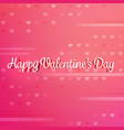 red valentine background with text vector image