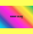 abstract rainbow color background with halftone vector image