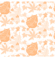 Autumn Seamless Pattern Background vector image vector image