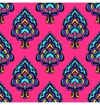 damask seamless design vector image
