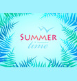 hello summer holiday poster traveling template vector image