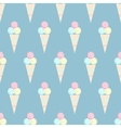 Ice cream pattern - stock vector image vector image