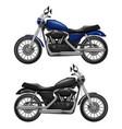 motorcycle realistic urban transport sport vector image vector image