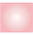 Seamless pattern in the embossed heart vector image
