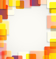 Abstract background of different color squares