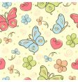 cute background vector image vector image