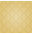 Golden ethnic festive pattern vector image vector image