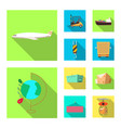 goods and cargo sign vector image