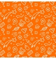 Hand-Drawn Symbol Pattern vector image vector image
