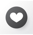 heart icon symbol premium quality isolated soul vector image vector image