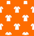 men tennis t-shirt pattern seamless vector image vector image