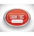 No sugar or sugar free vector image vector image