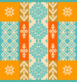 pattern with traditional ethnic ornament vector image vector image