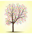 Spring summer tree vector image vector image