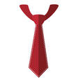 tie accessory fashion vector image vector image