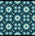 abstract background seamless pattern in blue color vector image vector image