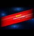 abstract technology background for design vector image vector image