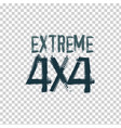 extreme lettering image vector image vector image