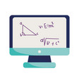 happy teachers day online learn class maths vector image vector image